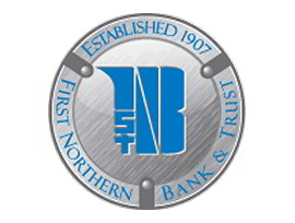 First Northern Bank & Trust Logo