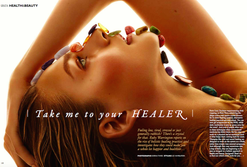 Holistic wellness, Grazia magazine