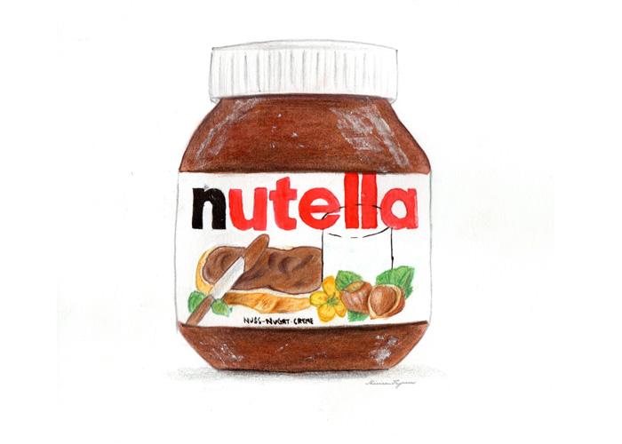 Nutella Jar.