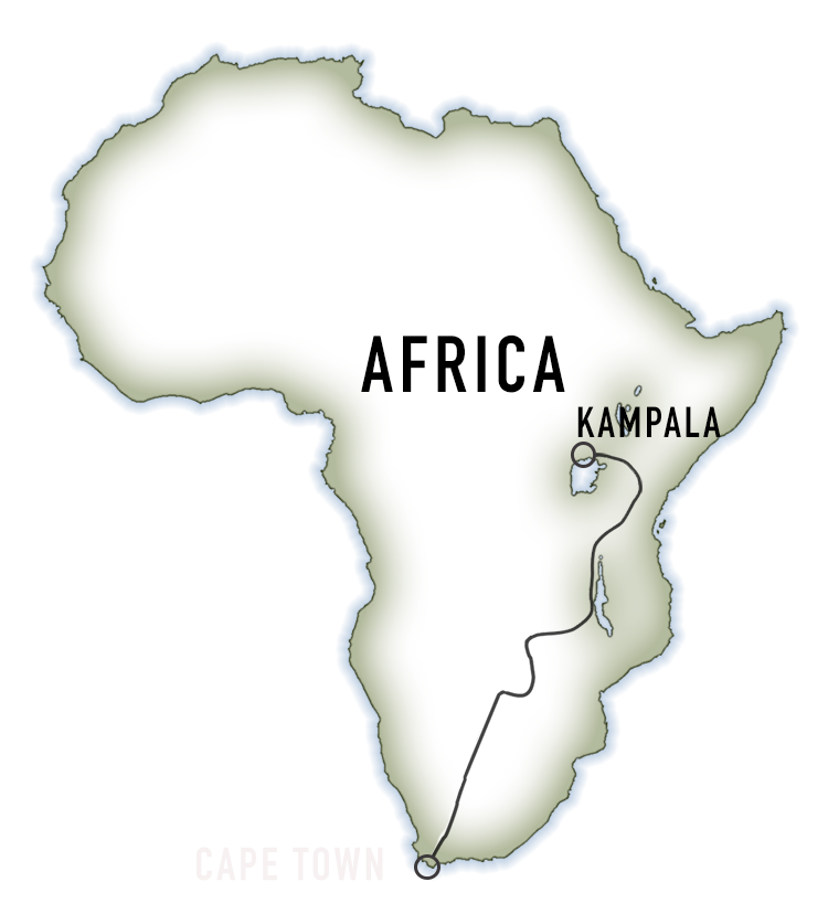 Africa outline map white text.png