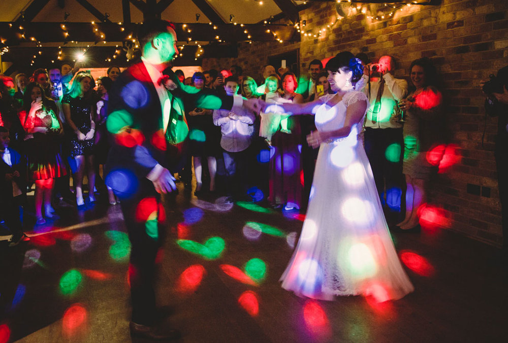 first dance, long furlong barn wedding photography