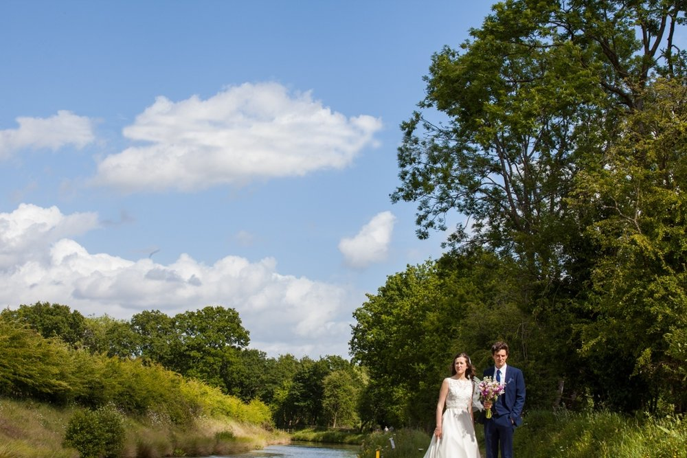 sussex wedding - loxwood village hall - hayley rose photography