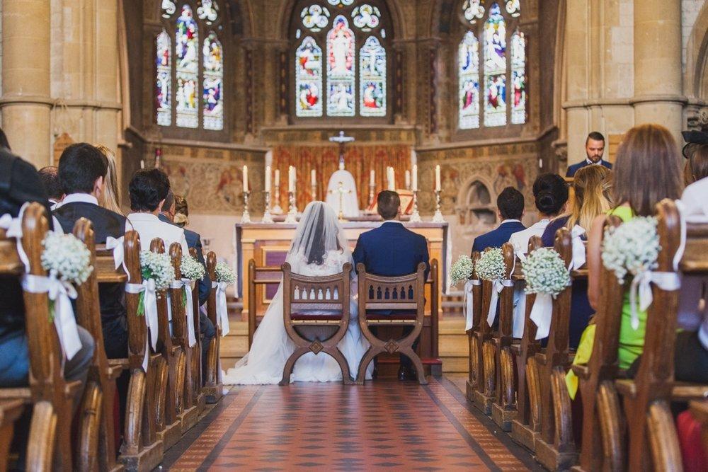 sacred heart catholic church, caterham, wedding photographer