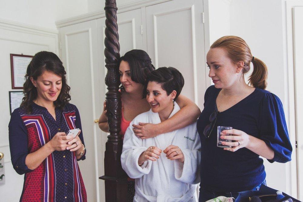 long furlong barn wedding, sussex wedding photographer, bridal prep