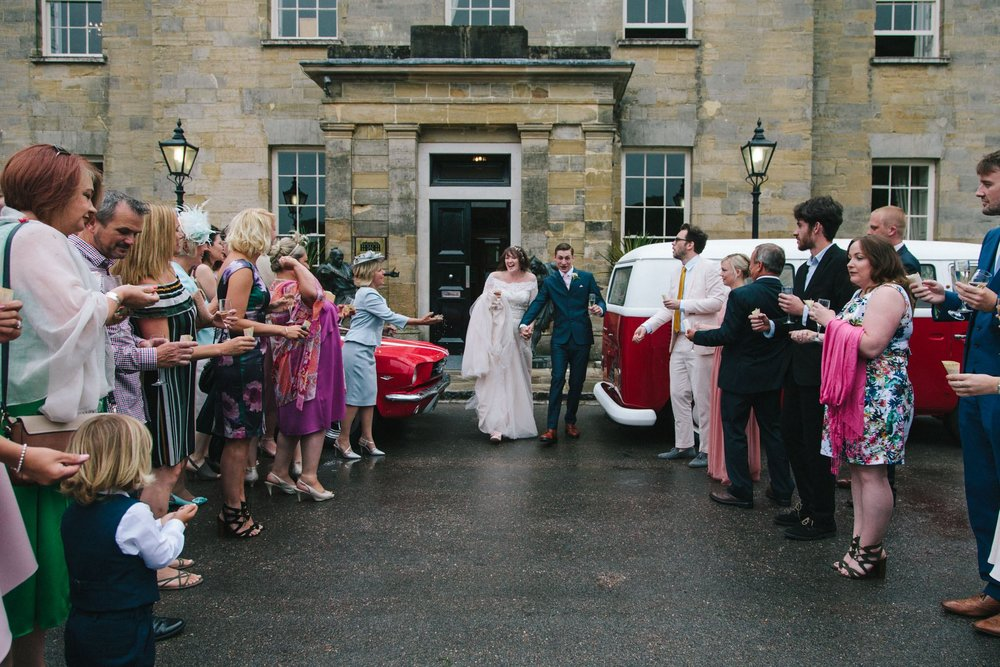 confetti at stanmer house