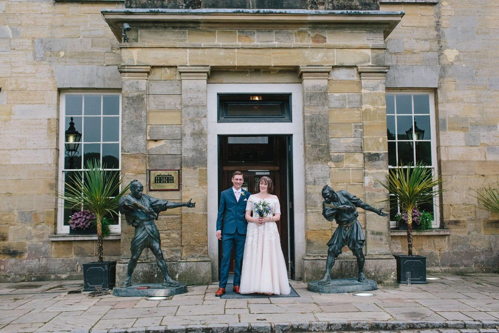 stanmer house bride and groom