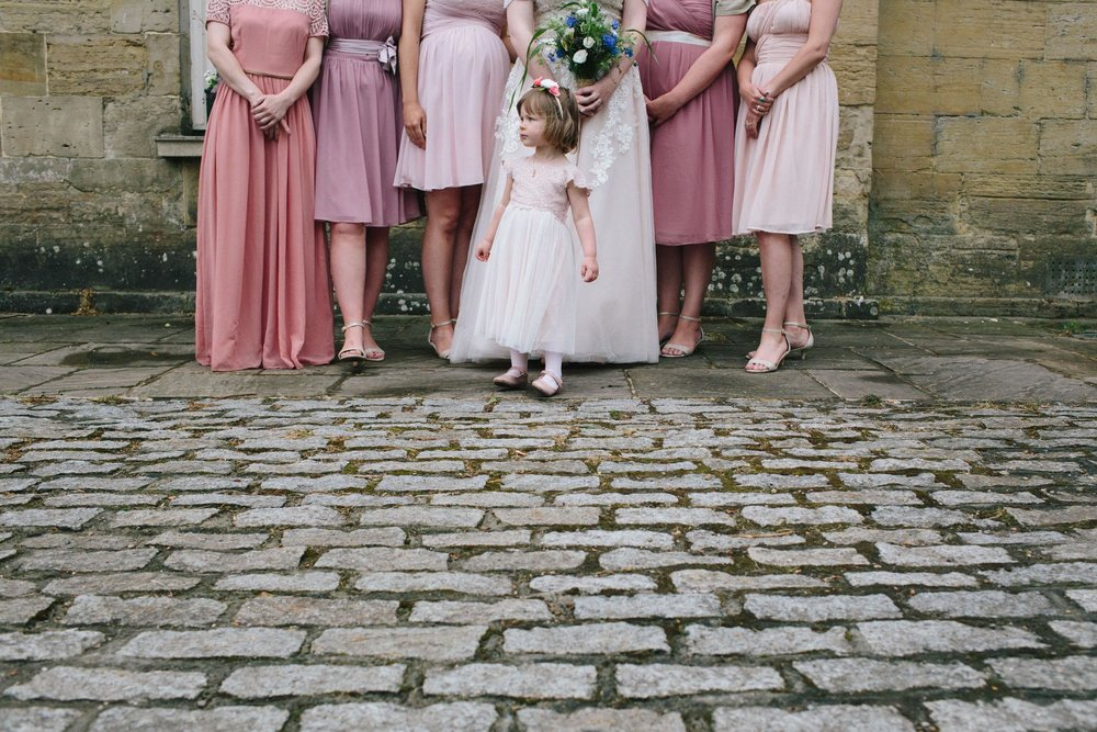 flower girl at stanmer house wedding, sussex wedding venues