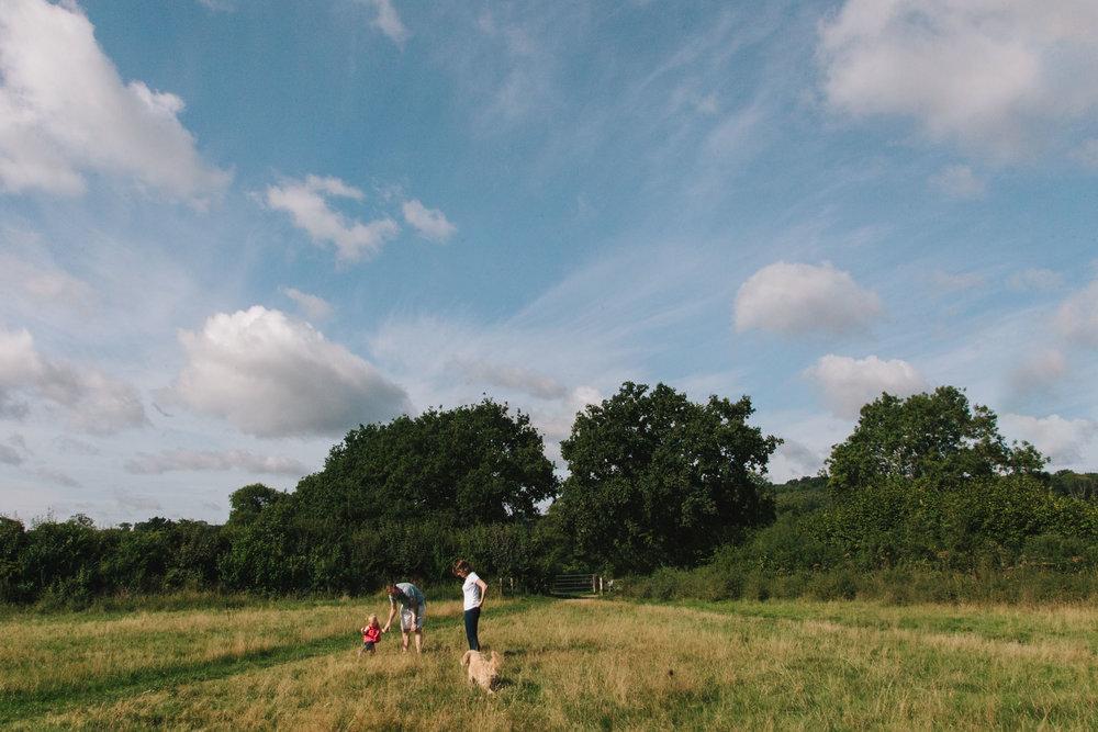 Family documentary shoot, horsham