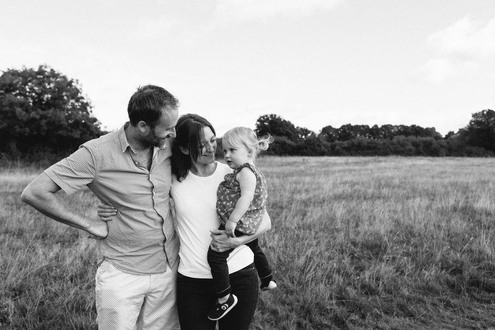 unposed family portrait photographer, sussex