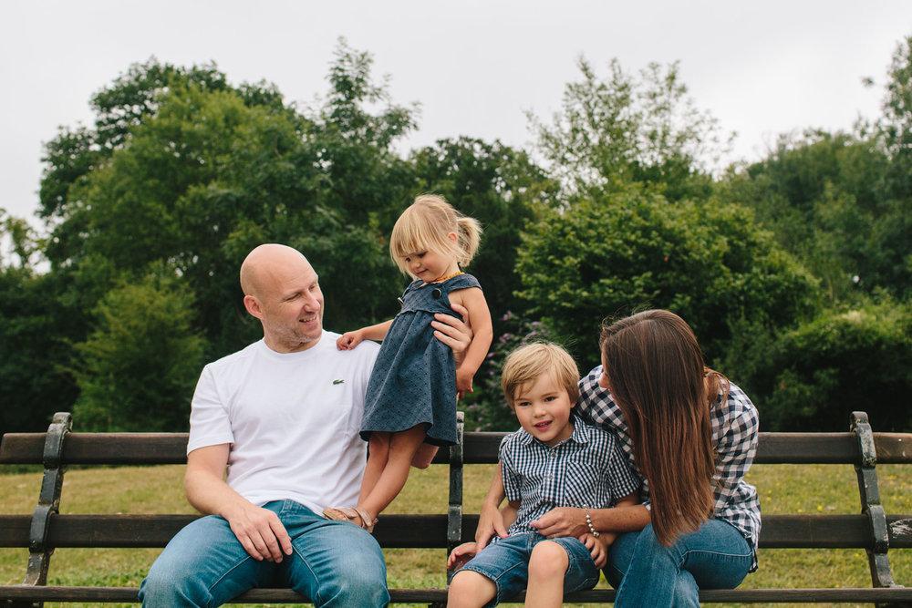 documentary family photographer, reigate, surrey