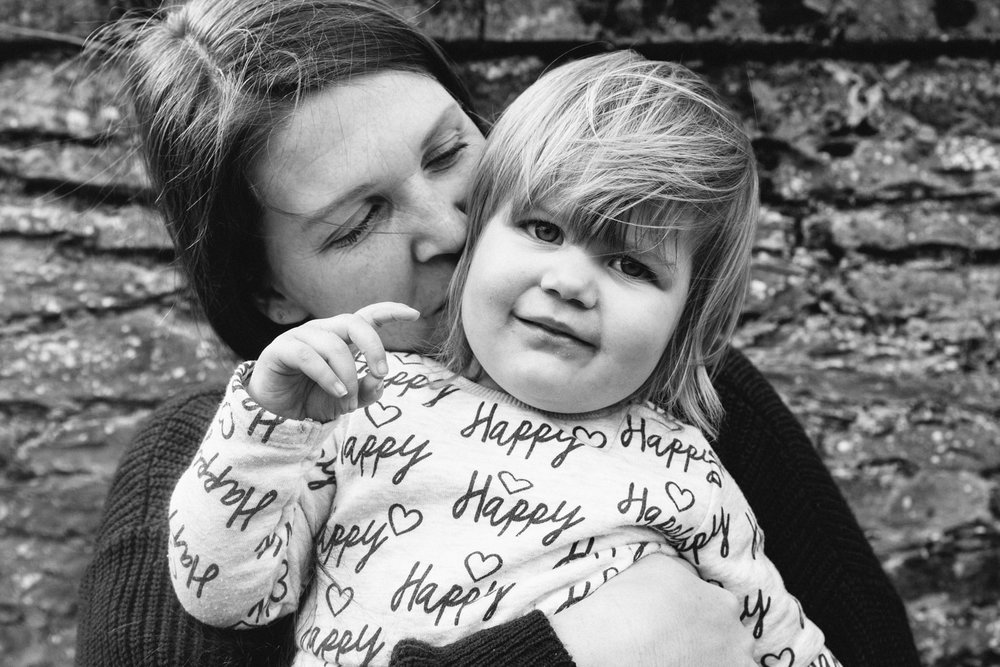 black and white documentary family photographers in sussex