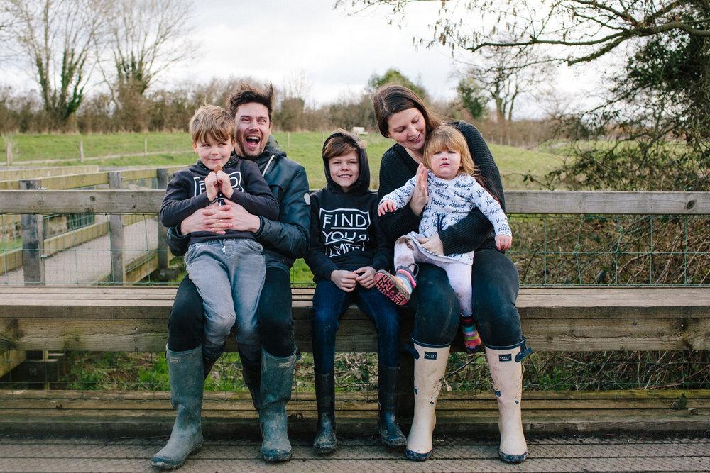 outdoor family photography horsham, chesworth farm