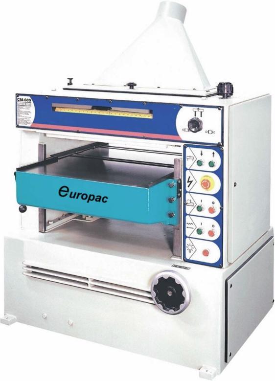 Europac CM 508 Tykkelseshøvel
