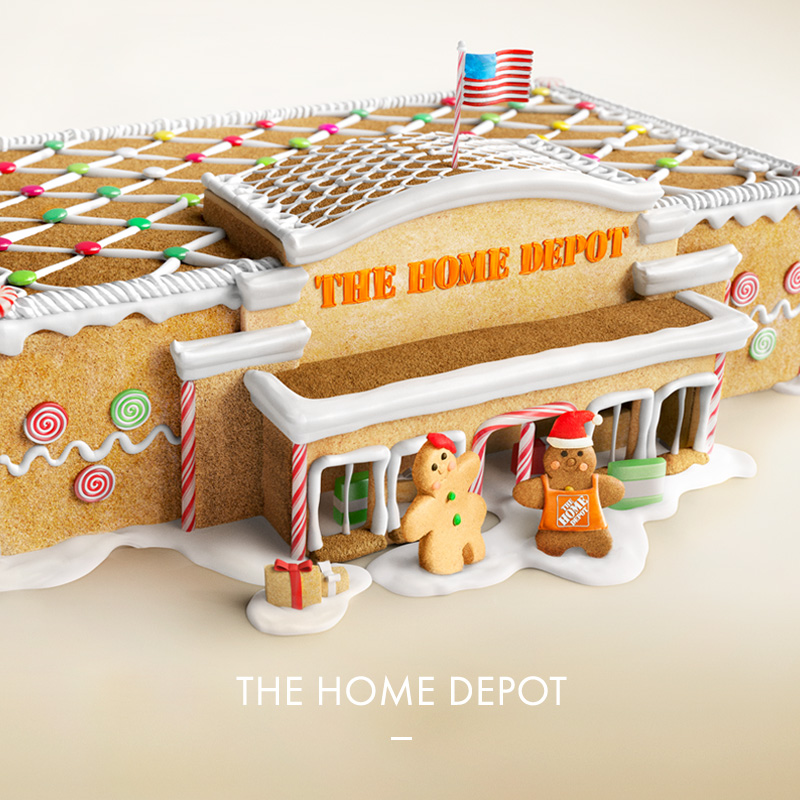 The Home Depot - Gingerbread
