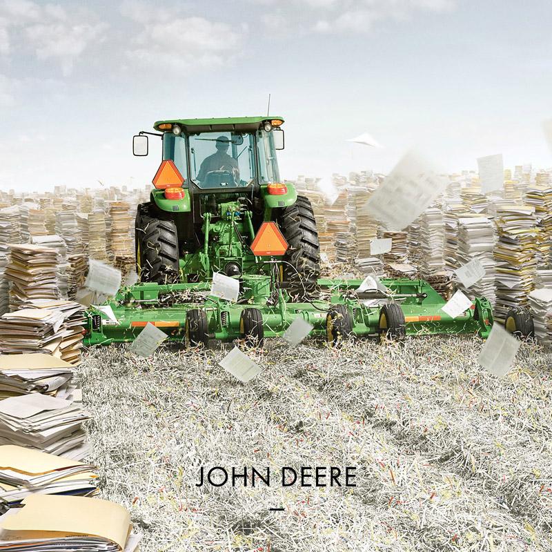 "John Deere ""Paperwork""."