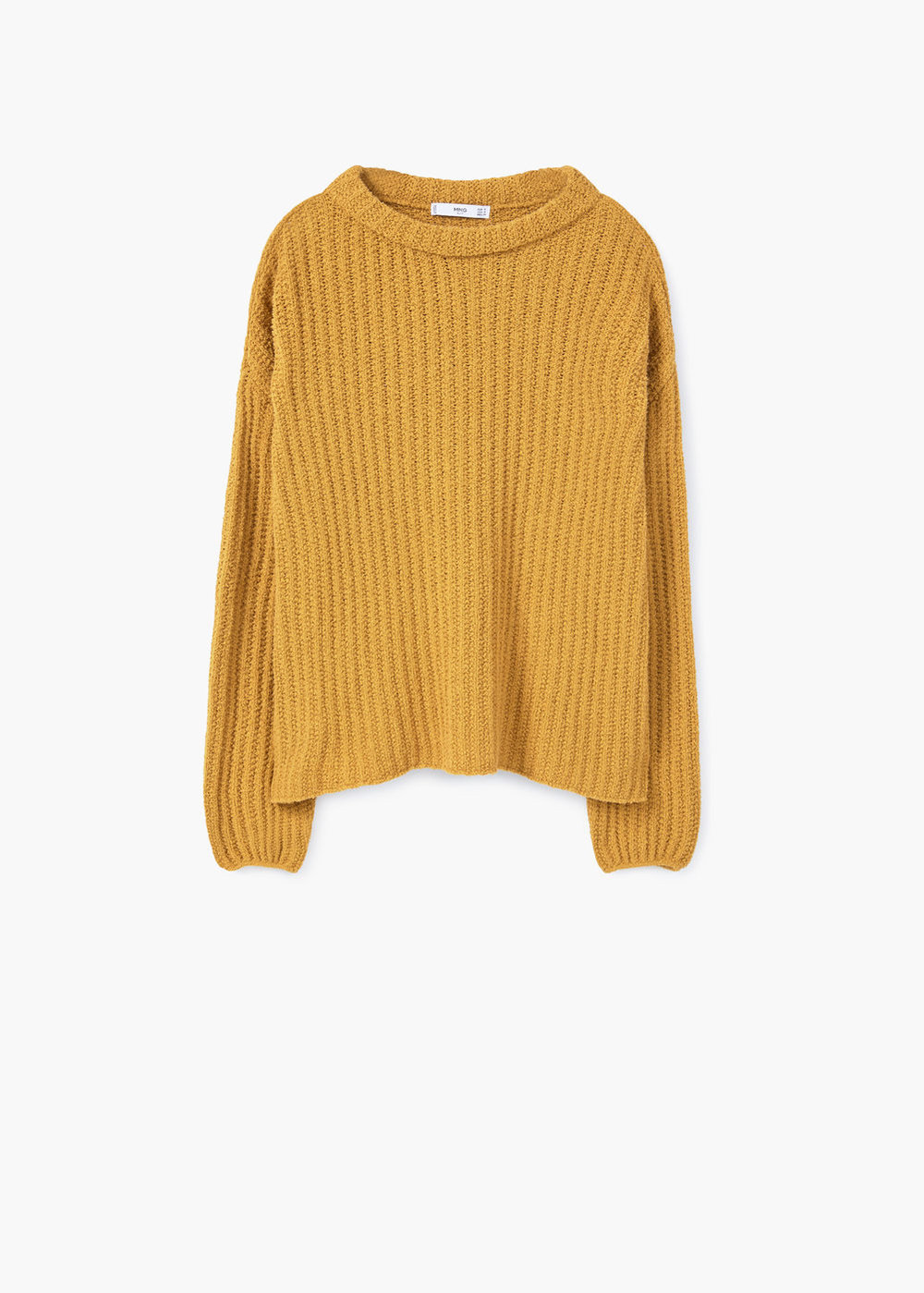 Be ahead of the curve and get   this chunky sweater   in mustard yellow. This hue is so flattering on everyone and it makes you stand out but not in a bad way.