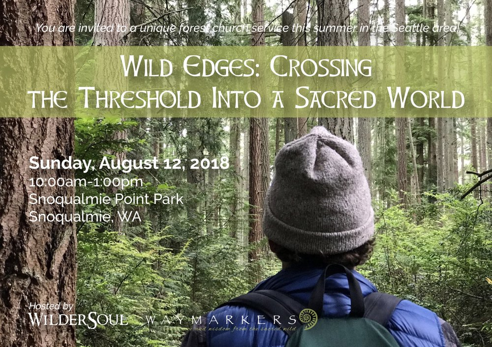 August 12 - Cultivate a deeper connection with nature and your own wild wholeness through prayer, wanders and the wisdom of sacred narratives. Renew your sense of kinship and community with one another, the wild earth, and the great mystery we call God.Click Here To Register Today!
