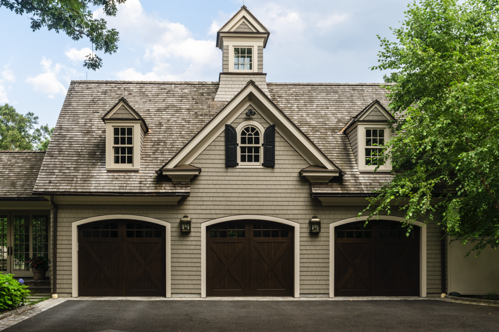 Shingled Garage