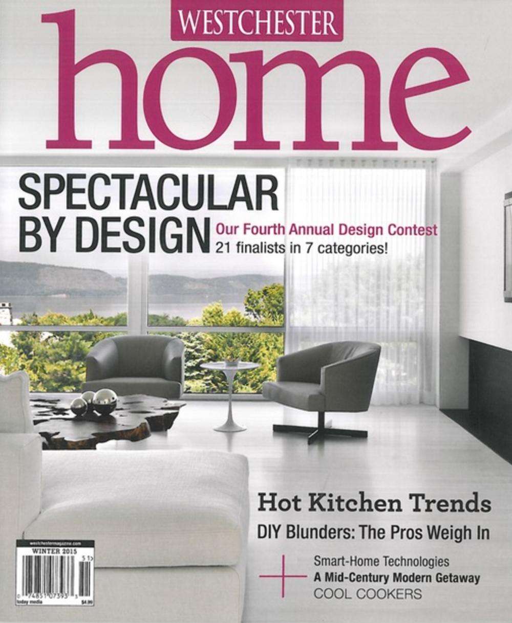 Westchester Home Magazine 2015 Design Finalist