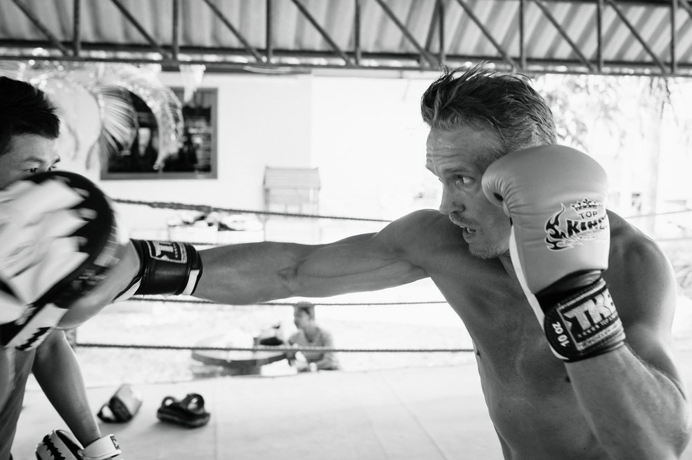 Träningsläger thaiboxning Thailand 2014