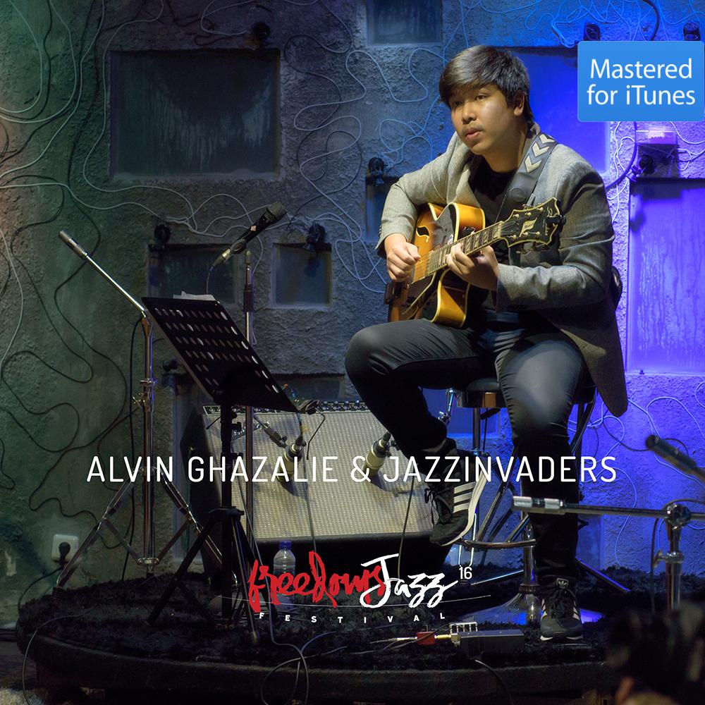 freedomsJazz  Festival 2016 - Day 8 - Alvin Ghazalie & Jazzinvaders
