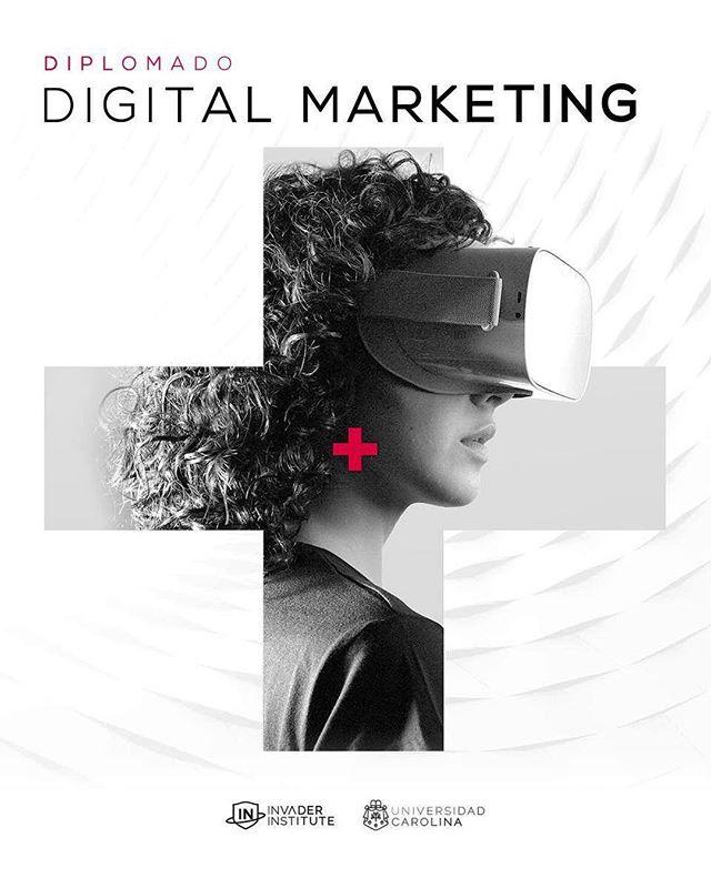 Diplomado en Digital Marketing 🤘🏼👽🛸 Link en bio. . . . #invaderinstitute #invaderlife #digitalinvaders #diplomado #marketing #marketingdigital #universidadcarolina