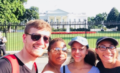Mission Trip 2016 Youth in DC working at Christ House and touring DC area