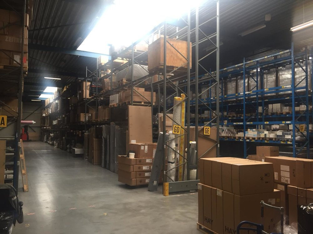 Impression of the new warehouse