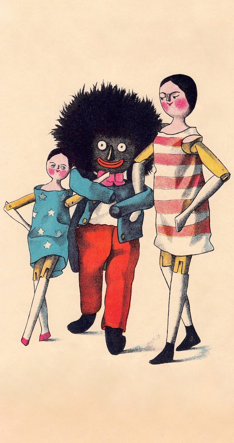 The Adventures of Two Dutch Dolls and a Golliwog,  Photo courtesy the @ http://lusenberg.com/golliwogg/golliwogg.html