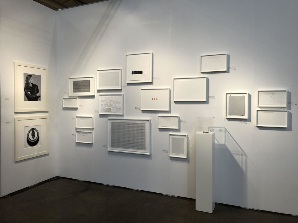Installation shot, Art Toronto 2017, (Photo courtesy Olga Korper Gallery © 2017 Olga Korper Gallery)