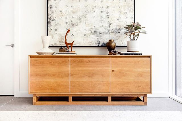 Our Catherine Credenza built for @guesthouseshop ready to be your new addition to your home for the new year! See @guesthouseshop for details on their latest shop-able home. #houseofalpine