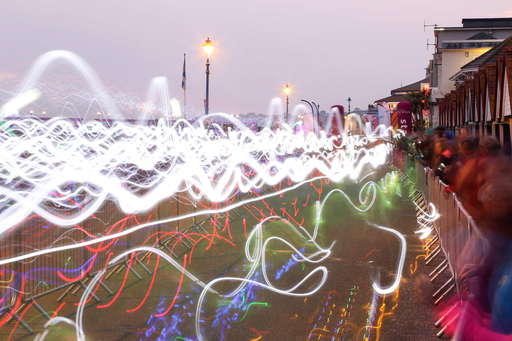 Bournemouth Marathon Festival Night Glow, 2015.