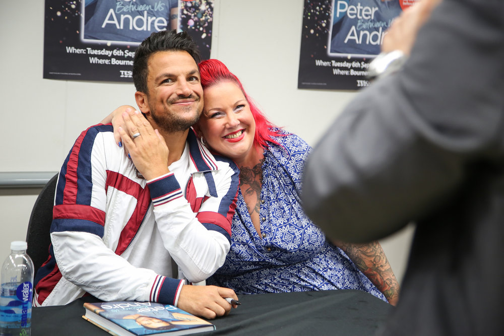 Peter Andre Book Tour, Bournemouth.