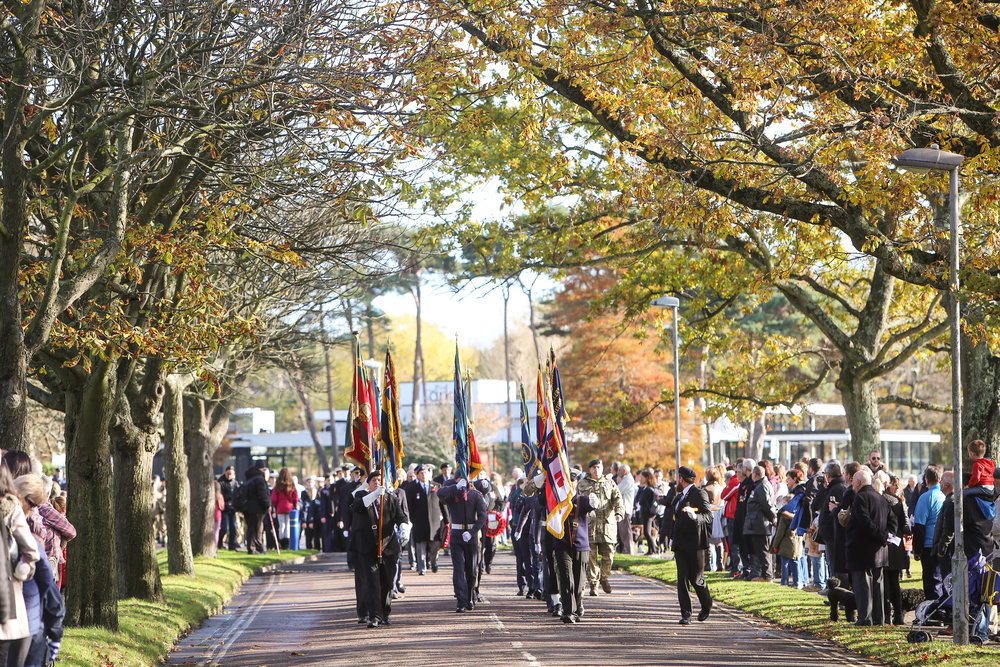 Remembrance Day Parade, Poole.