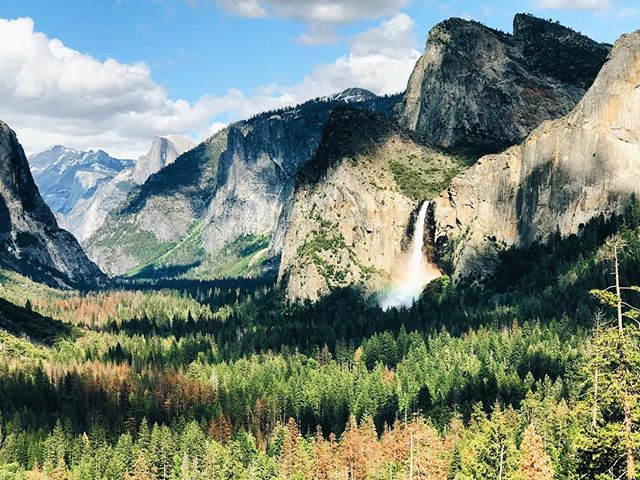 Will never forget the feeling of driving out of the tunnel in Yosemite and seeing this view from the first time! 😍 #yosemite #california