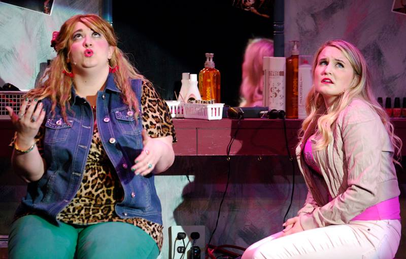 Paulette (left) - Legally Blonde: The Musical - The Barn Theatre, dir. Jeffrey Fiorello