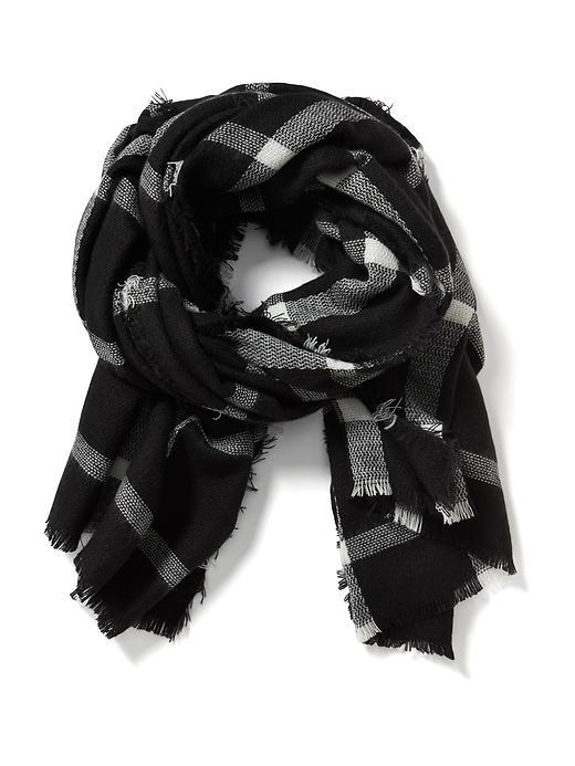 Oversized Flannel Scarf, The Gap, $20 at TheGap.com