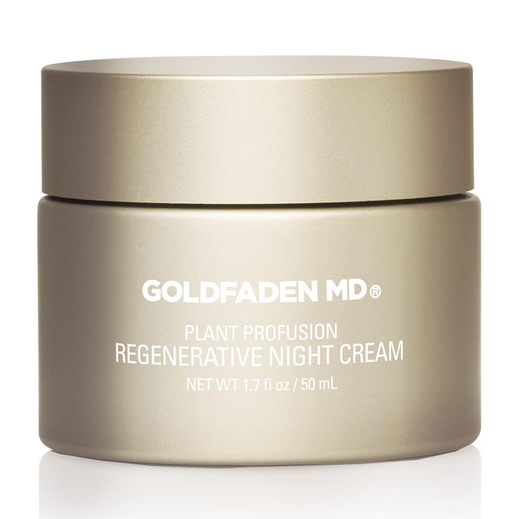 GOLDFADEN MD Plant Profusion Regenerative Night Cream - $185 available at SPACE NK