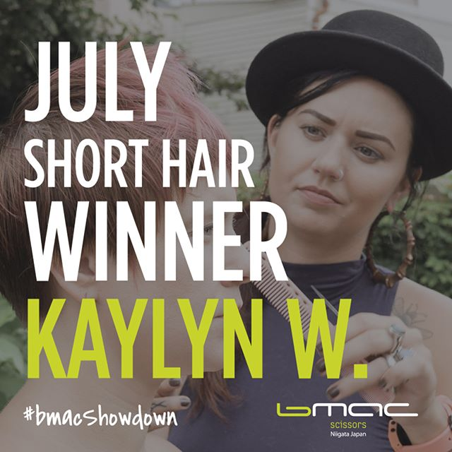 Congratulations to @kaylyn_walborn_hair for winning the July's Monthly contest for #bmacshowdown! What a great video created for your entry. 😄🎉 Please DM us to claim your prize! - Thank you everyone who sent in their videos! -  Keep up the good work and keep submitting the required videos because the GRAND PRIZE-- Trip to Japan is still up for grabs!  We have seen many creative entries! Keep it up and make it hard for our judges to choose a winner! (Trust us, it's already difficult choosing...make it even harder!) 😉 - #ProTip- Focus on creativity, cinematic, and cutting technique (apart from showcasing the bmac scissors). #BmacShowdown . . . . . . . . . . . . . . . . . . . . #hairstylist #hairstylists #hairstylistlife #hairstylistjakarta #hairstylistproblems #hairstylistkl #hairstylisttribe #hairstyliste #hairstylistbandung #hairstylistpierre #hairstylistintraining #hairstylistatl #hairstylistph #hairstylistmagic #hairstylistofinstagram #hairstylistmiami #hairstylistinjamaica #hairstylistchicago #hairstylistforlife #hairstylistsofinstagram #hairstylistjkt #hairstylistsd #hairstylistneeded #hairstylistsby #hairstylistlosangeles