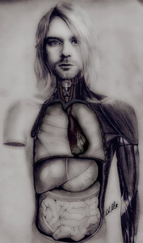 Kurt Cobain In Utero