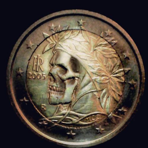 Euro Coin Carving
