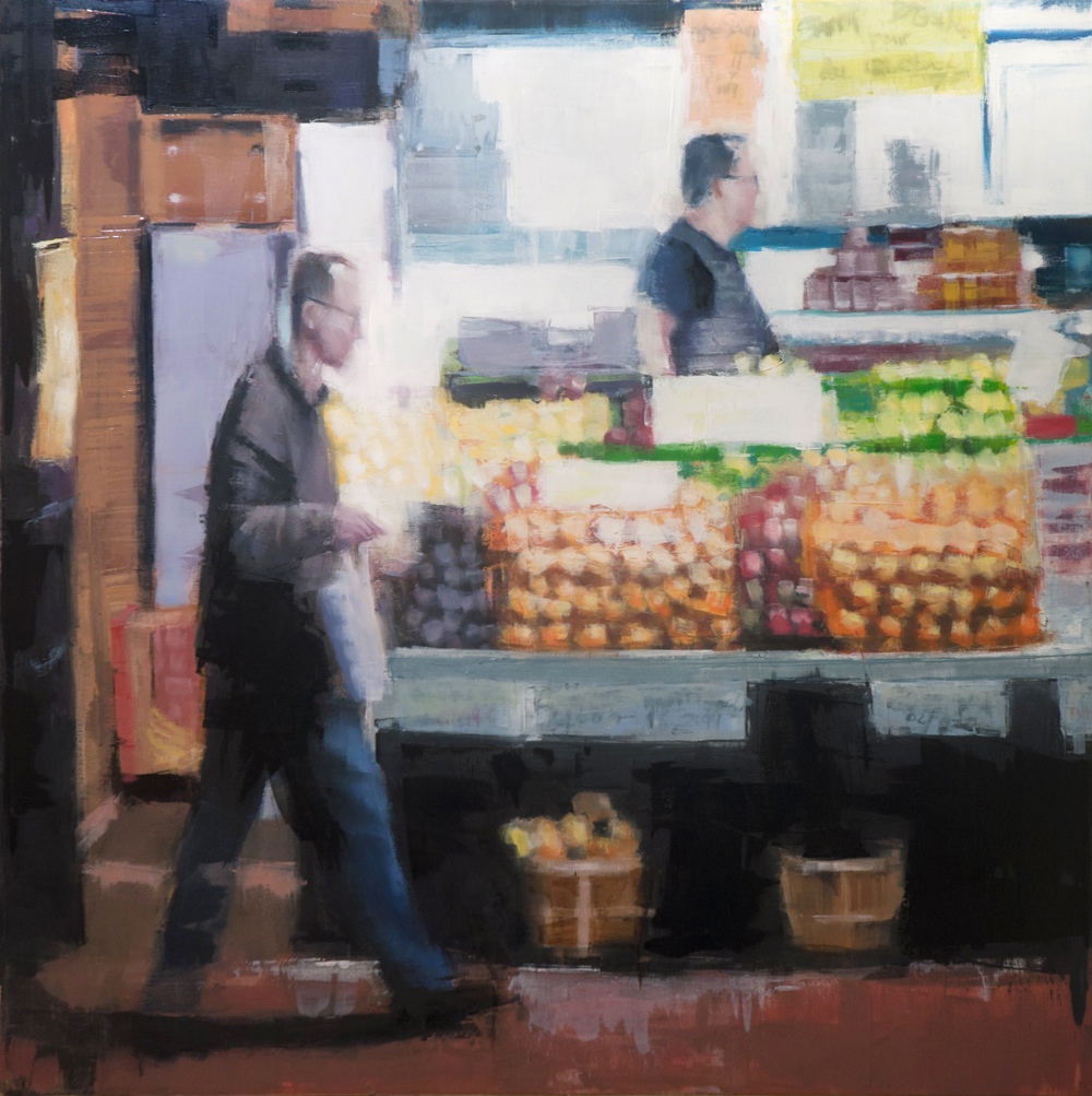 atwater eggs - 36x36 inches - oil on canvas - 2014