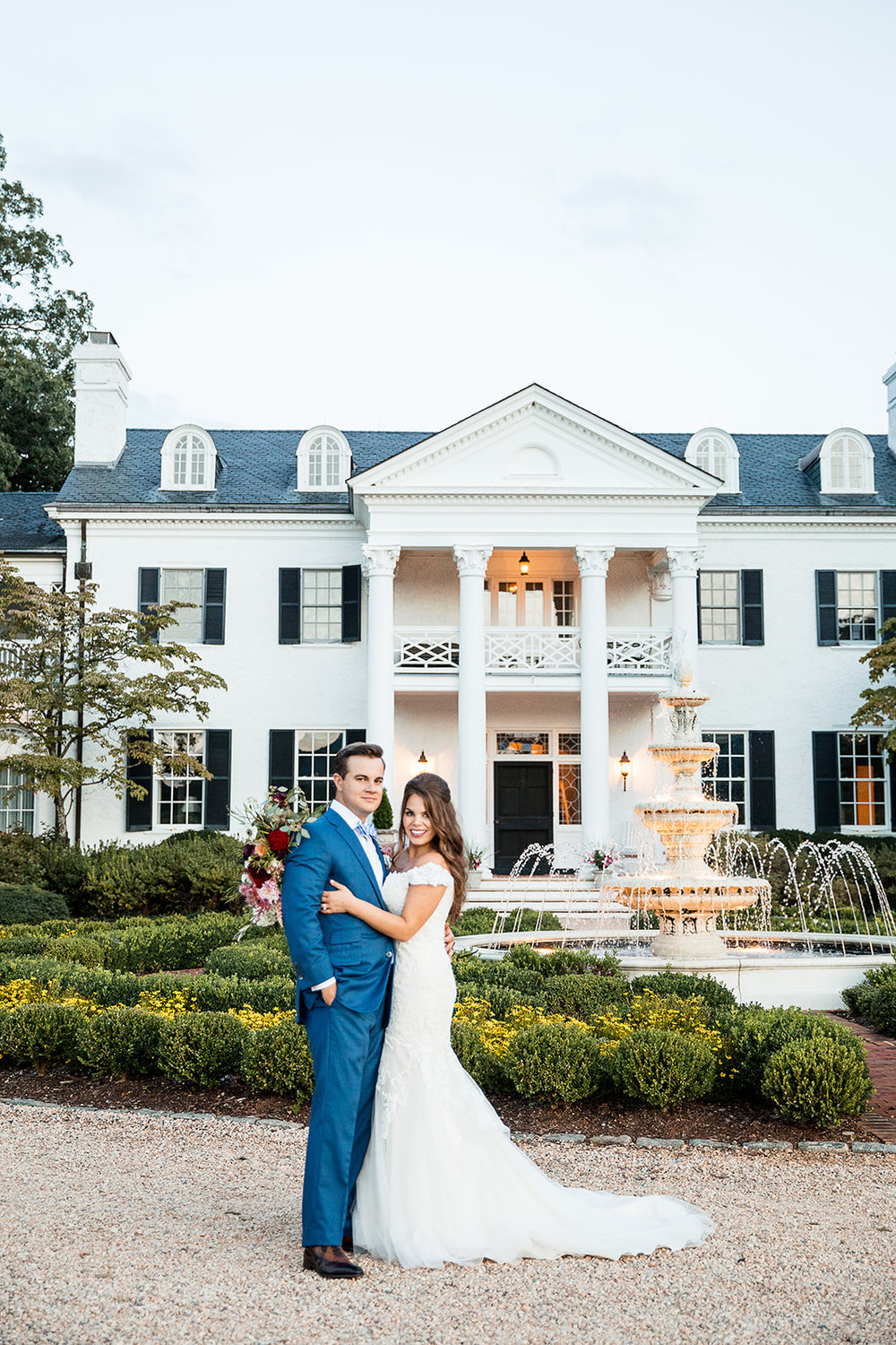 Keswick Vineyard Charlottesville Wedding