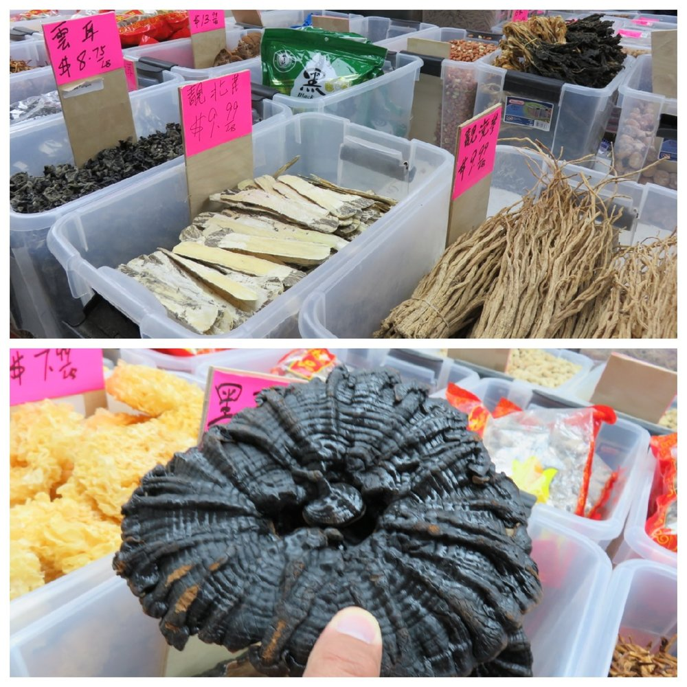 Dried goods in China Town