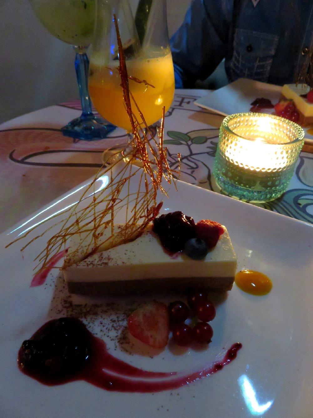 Silk cake