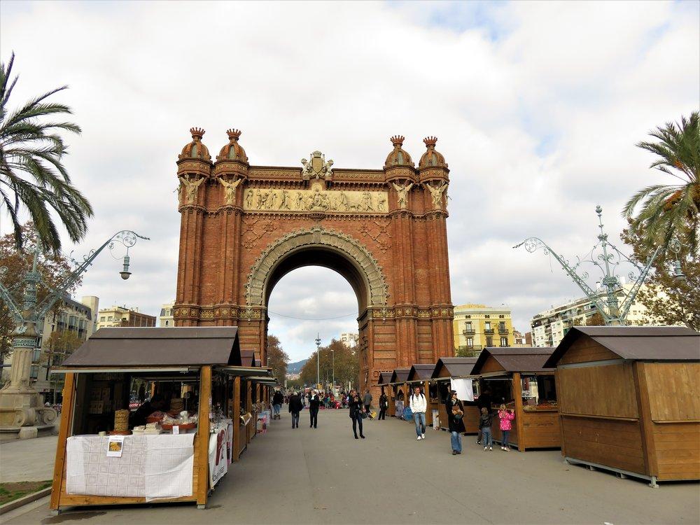 Arco de Triunfode Barcelona