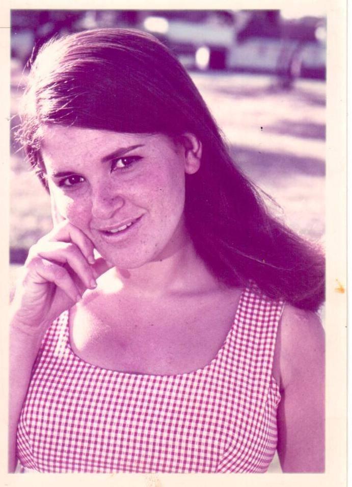 Gillian Benatar as a young girl.