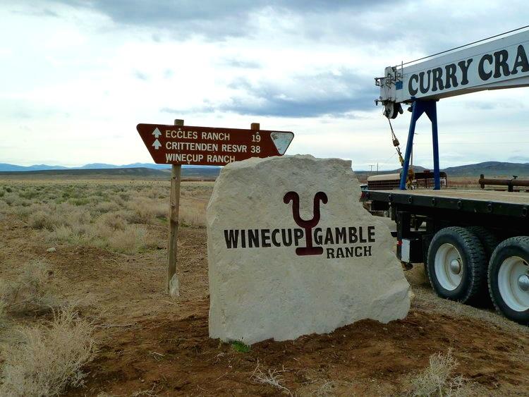 Ranch Entrance Sign