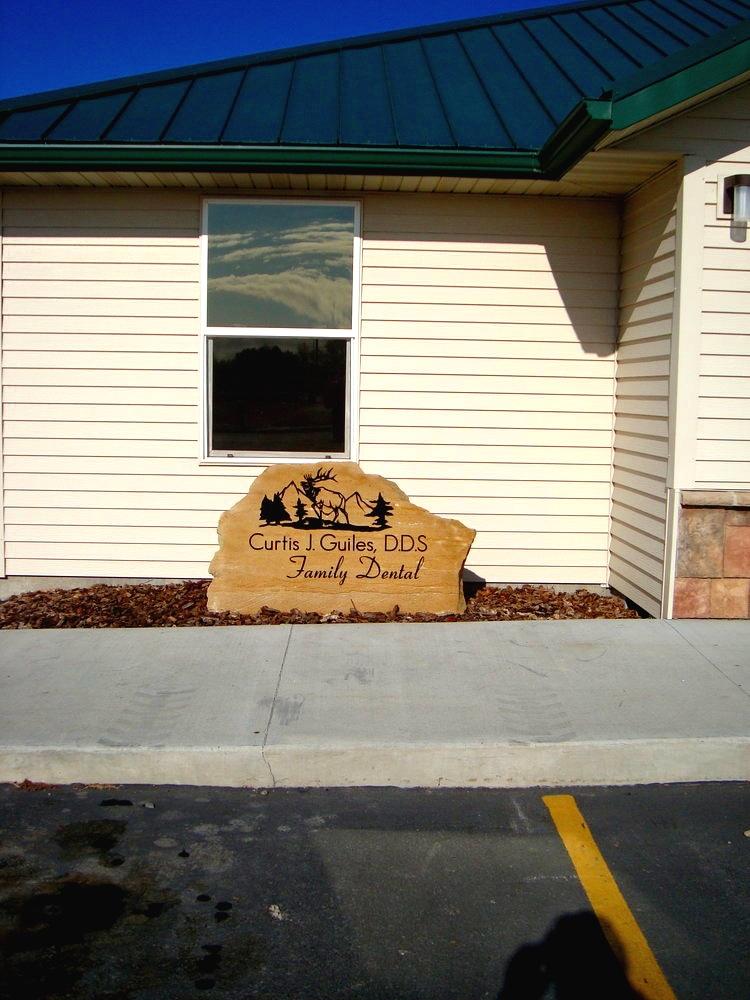Business Entrance Sign