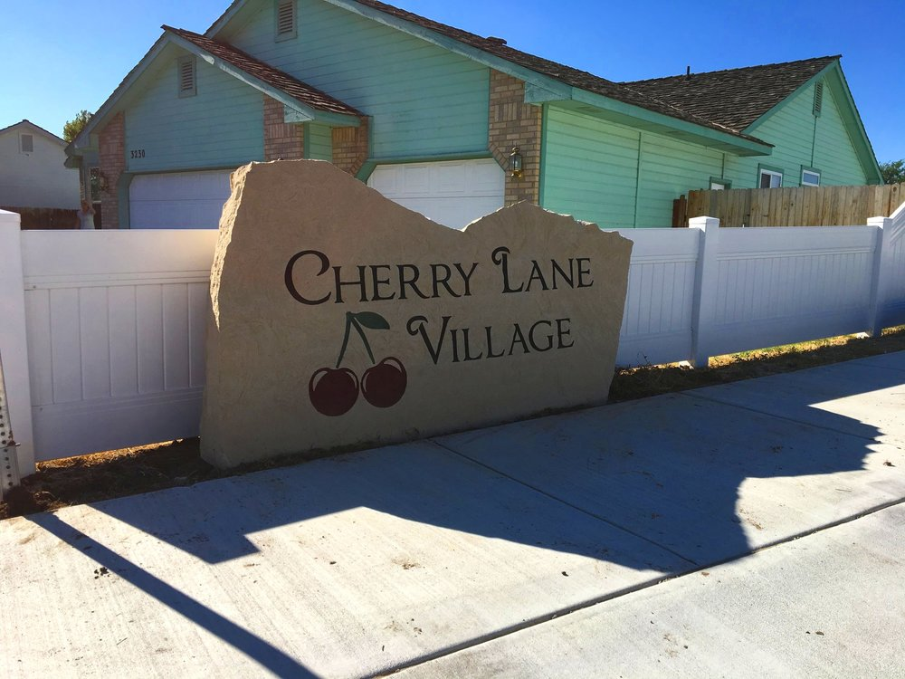 Subdivision Entrance Sign